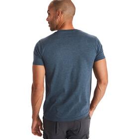 Marmot Redpoint T-shirt Homme, navy heather